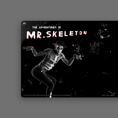 The Adventures of Mr. Skeleton website