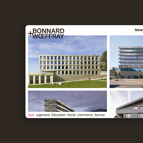 BONNARD + WŒFFRAY – Architectes FAS/SIA