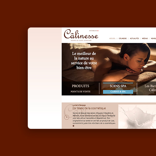 Câlinesse website